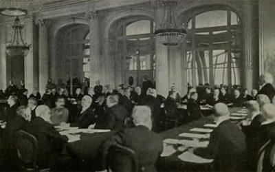 El Tratado de Versalles, una paz frágil