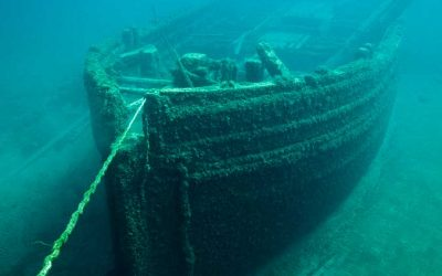 Cruces y recompensas por el naufragio de la fragata Gneisenau