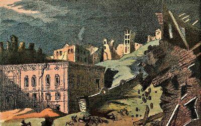 El año de 1755 tembló la tierra mientras en misa mayor
